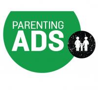 logo parenting ads